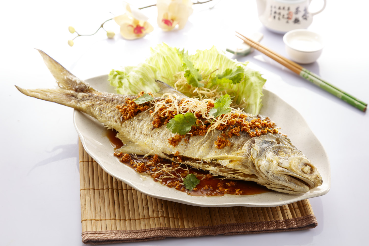 Home esquire kitchen for Best oil for deep frying fish